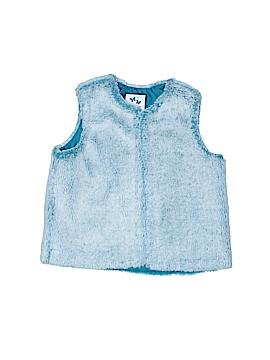 Gymboree Faux Fur Vest Size 4