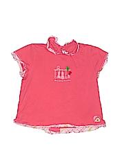 Catimini Girls Short Sleeve Top Size 88 cm