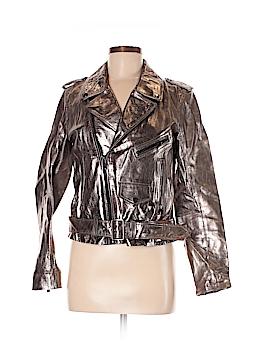 Zara Faux Leather Jacket Size M