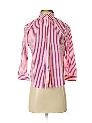 Chaps Women Long Sleeve Button-Down Shirt Size S