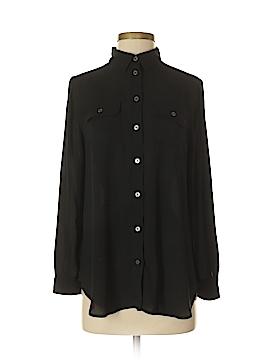 Ann Taylor LOFT Long Sleeve Button-Down Shirt Size Sm - Med Petite (Petite)
