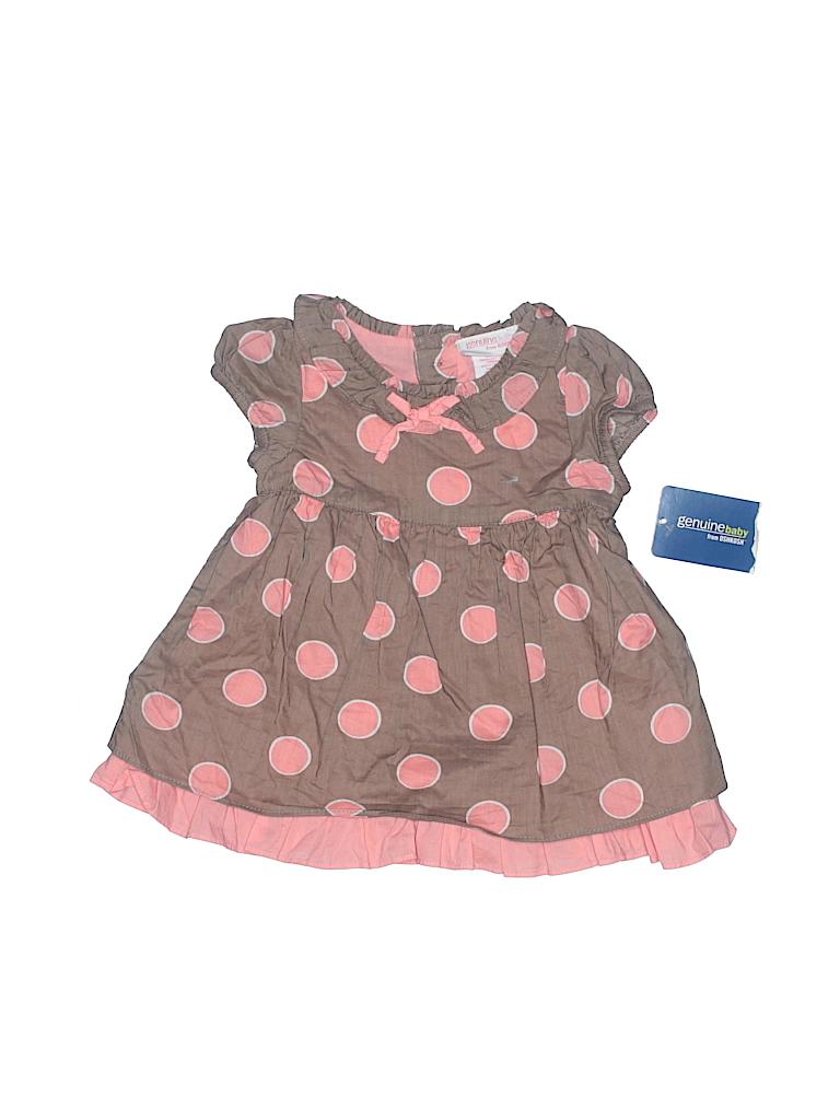 Genuine Baby From Osh Kosh Girls Dress Size 3 mo