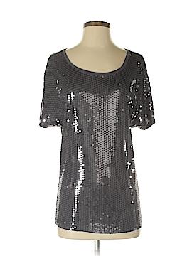 Velvet Short Sleeve Blouse Size P