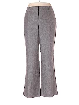 Ann Taylor LOFT Outlet Linen Pants Size 14 (Petite)