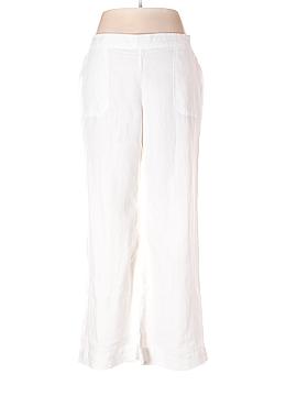 Lands' End Linen Pants Size 14 (Petite)