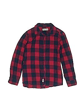 Zara Long Sleeve Button-Down Shirt Size 11