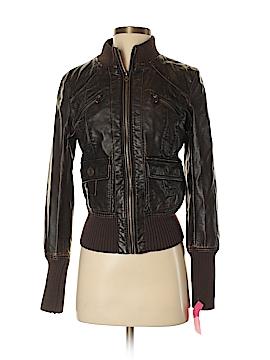Xhilaration Faux Leather Jacket Size S (Petite)