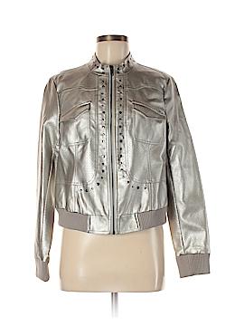 M by Marc Bouwer Faux Leather Jacket Size M