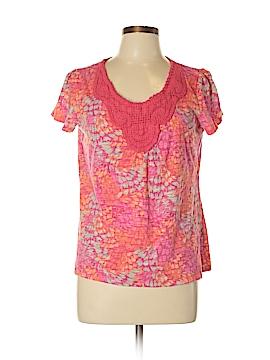 St. John's Bay Short Sleeve Top Size L