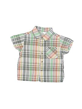 Kidgets Short Sleeve Button-Down Shirt Size 12 mo