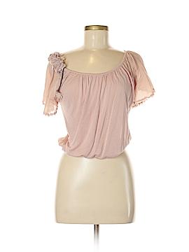 Zara TRF Short Sleeve Top Size S