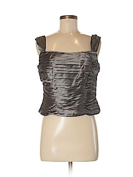 Watters & Watters Sleeveless Silk Top Size 10