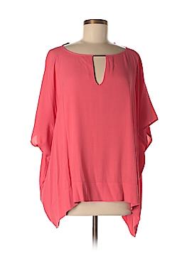 Diane von Furstenberg 3/4 Sleeve Blouse Size S