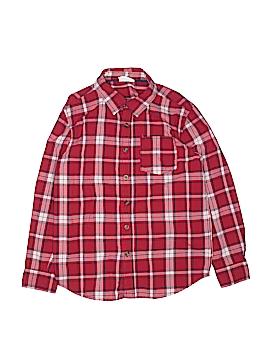 Crazy 8 Long Sleeve Button-Down Shirt Size 7