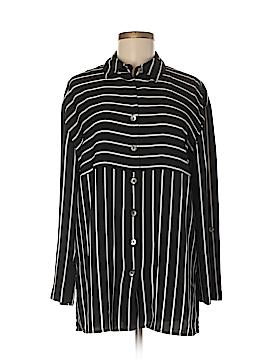 Michele Michelle Long Sleeve Blouse Size S