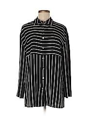Michele Michelle Women Long Sleeve Blouse Size S
