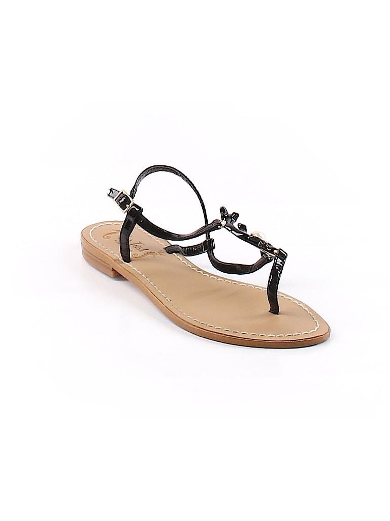 b4385d31b Miss Trish for Target Solid Black Sandals Size 6 - 85% off