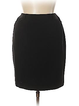 Emanuel by Emanuel Ungaro Wool Skirt Size 14