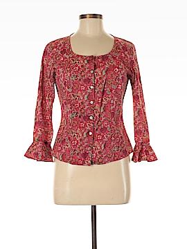 Harold's 3/4 Sleeve Button-Down Shirt Size 8