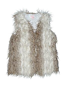 GB Girls Faux Fur Vest Size X-Large (Youth)