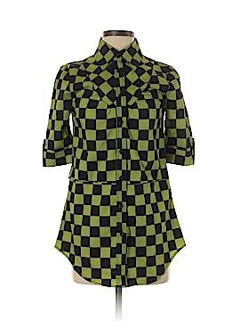 Abbey Dawn Short Sleeve Button-Down Shirt Size S