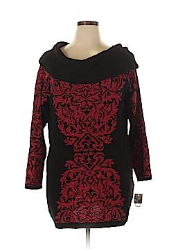 Inc Denim Pullover Sweater Size 2X (Plus)