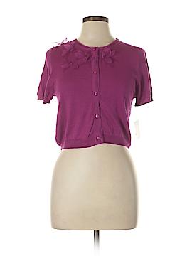 Suzi Chin for Maggy Boutique Silk Cardigan Size L