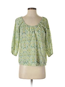 Liberty Art Fabrics for J. Crew 3/4 Sleeve Blouse Size XS