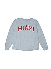 Champion Boys Long Sleeve T-Shirt Size M (Youth)