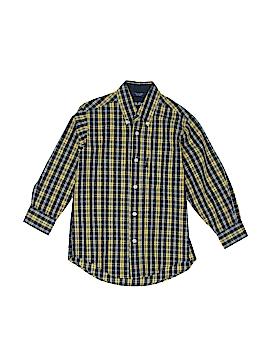 Nautica Jeans Company Long Sleeve Button-Down Shirt Size 6