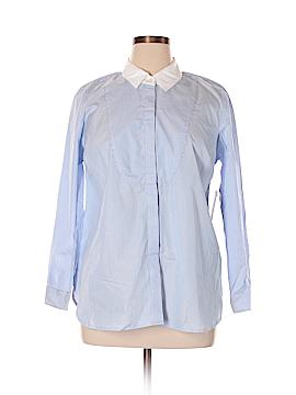 Eloquii Long Sleeve Button-Down Shirt Size 14 (Plus)