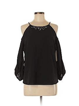 Cooper & Ella 3/4 Sleeve Blouse Size M