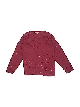 Emile et Ida Long Sleeve Button-Down Shirt Size 6