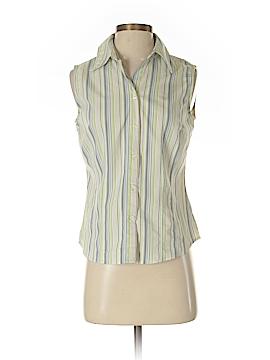 Apt. 9 Sleeveless Button-Down Shirt Size S