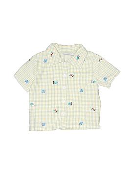 B.T. Kids Short Sleeve Button-Down Shirt Size 6-9 mo