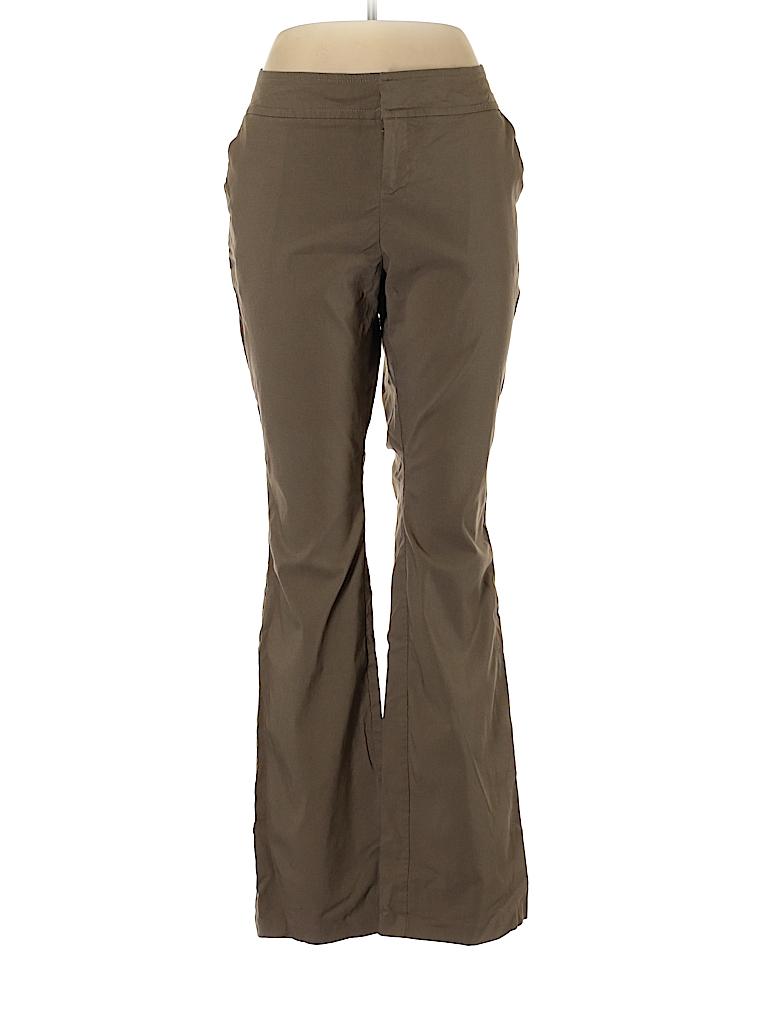 b28628da57 Torrid Solid Brown Casual Pants Size 12R - 80% off
