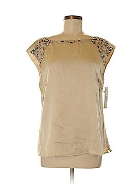 Antonio Melani Short Sleeve Silk Top Size M