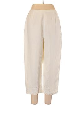 DressBarn Linen Pants Size L
