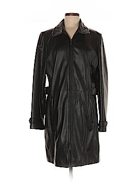 Eddie Bauer Leather Jacket Size L