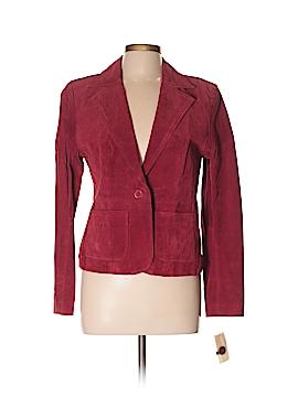 New York & Company Leather Jacket Size 10