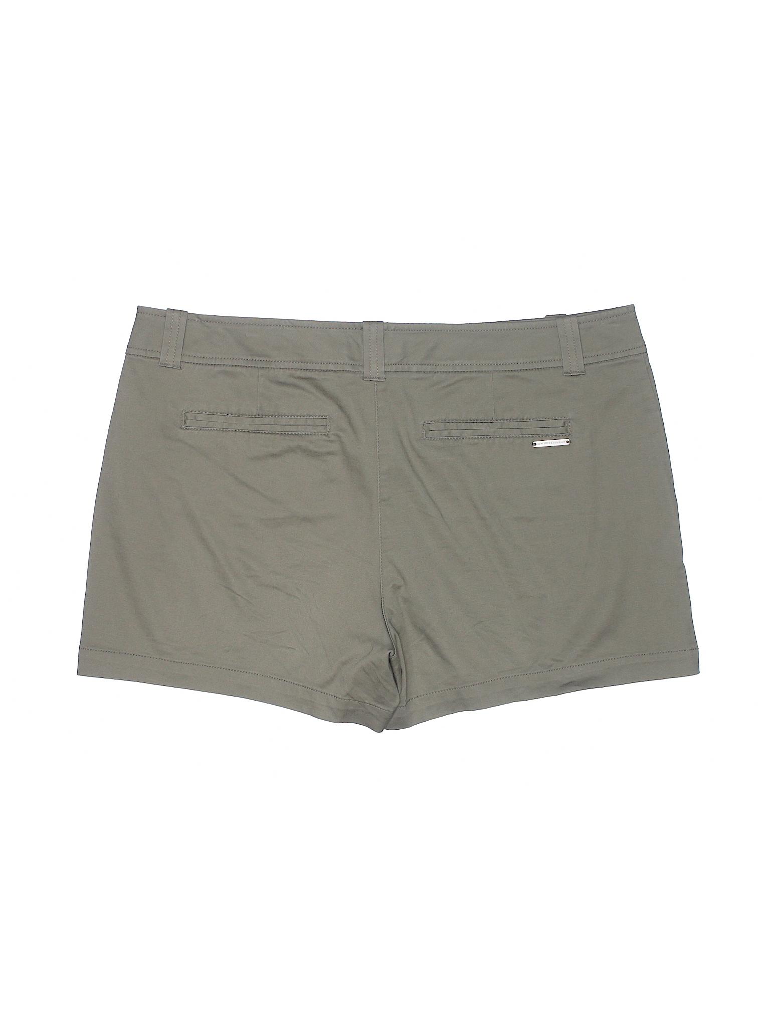 York Company Boutique amp; New Khaki Shorts pqF5x5Ytw