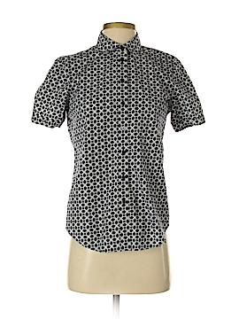 Joe Fresh Short Sleeve Button-Down Shirt Size S