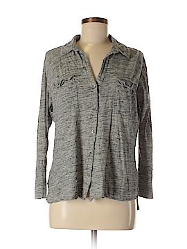 James Perse Long Sleeve Button-Down Shirt Size XL (4)