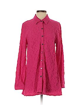 Habitat Long Sleeve Button-Down Shirt Size S