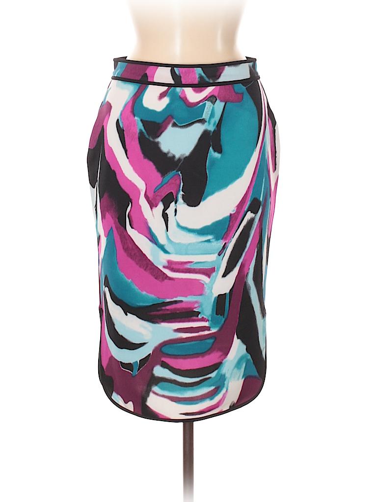 2d3fd8246d5d Jcpenney Print Teal Casual Skirt Size S - 66% off | thredUP