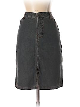 Indigo Palms Denim Skirt Size 8