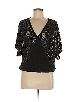 Deletta Short Sleeve Blouse Size M