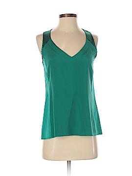 Nanette Lepore Sleeveless Silk Top Size XS