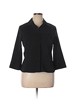 Covington Outlet 3/4 Sleeve Button-Down Shirt Size XL