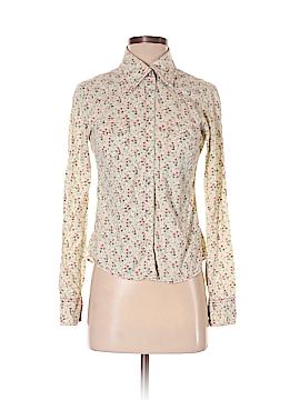 Ella Moss Long Sleeve Button-Down Shirt Size S
